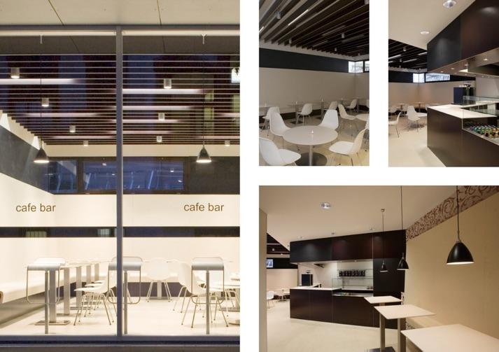 Anne stallkamp innenarchitektur gastronomie neubau for Innenarchitektur schule